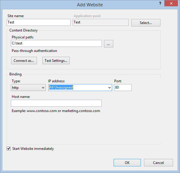 How to install IIS 8 on Windows 8.1 and test your website
