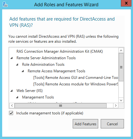 How to install a VPN on Windows 2012 R2