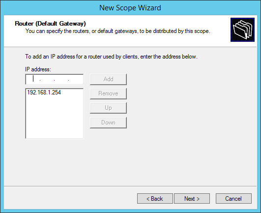How to configure a multiscope DHCP server to work with VLANs