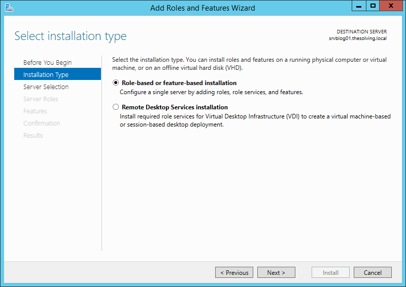 How to install the Windows Server Essentials Dashboard