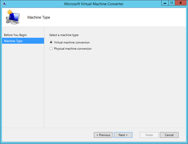 VMware ESX(i) to Hyper-V conversion with Microsoft Virtual Machine Converter