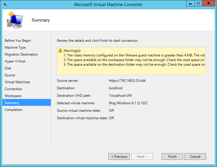 how to use microsoft virtual machine converter
