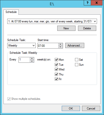 Configuring Volume Shadow Copies on Windows Server 2012 R2