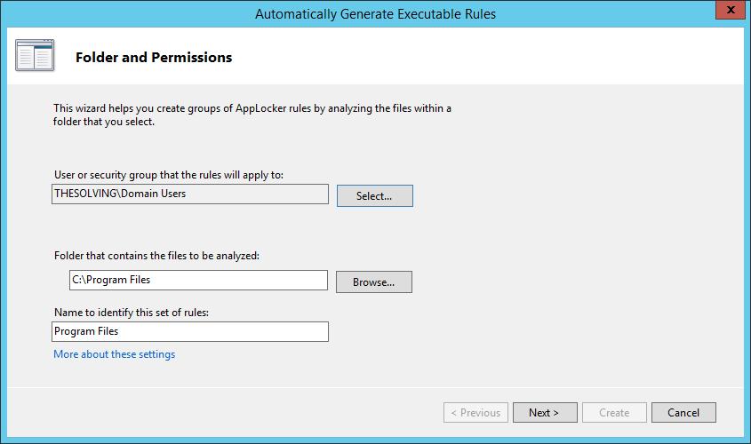 Enforce Software Restriction policies with AppLocker