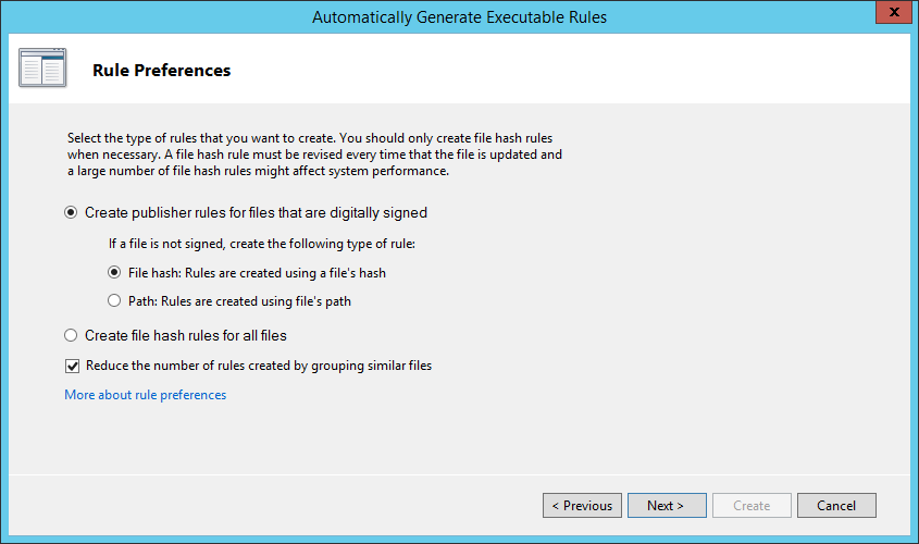 Enforce Software Restriction policies with AppLocker