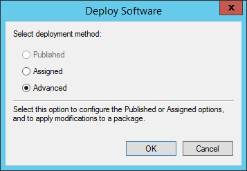 How to deploy software packages via GPO