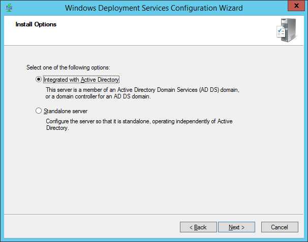 Configuring and using Windows Deployment Services (WDS)