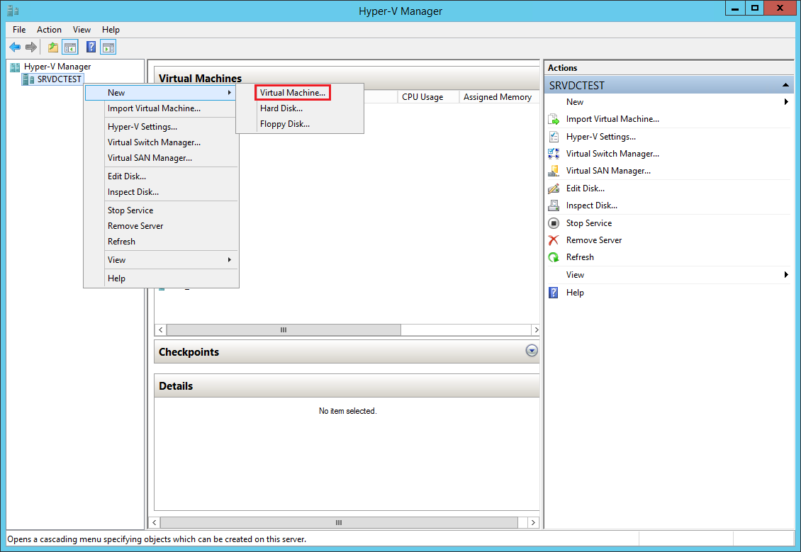 How To Create A Vm Template With Hyper V The Solving