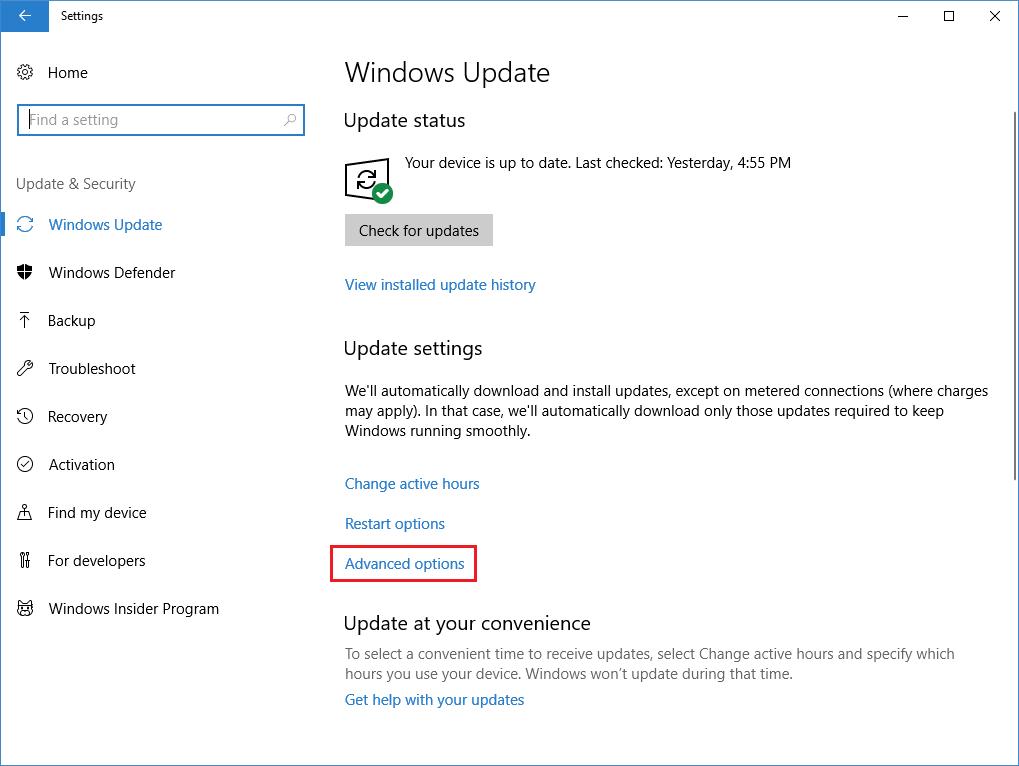 KB4074588 bug - windows updates
