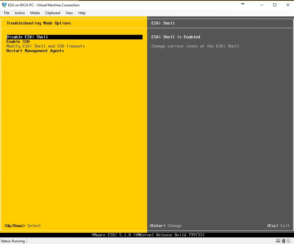 Install VMware ESXi on a Hyper-V | The Solving