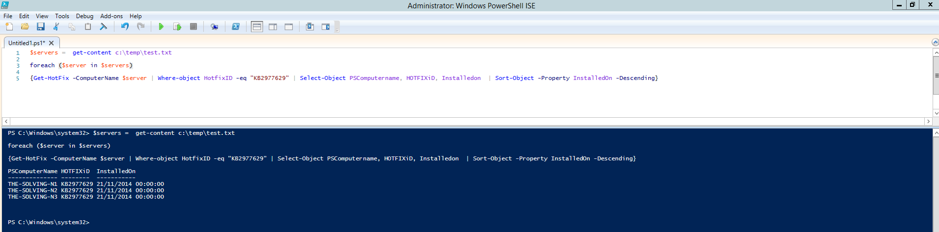 A Guide to PowerShell - part 3 | The Solving